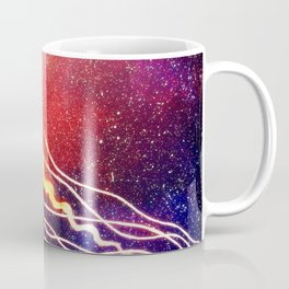 Space JellyFish Coffee Mug
