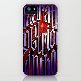 Azarath Metrion Zinthos iPhone Case