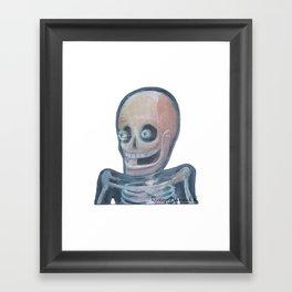 La risa del canalla Framed Art Print