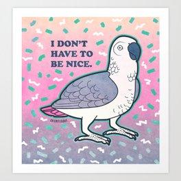 Nice Bird Art Print