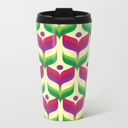 Tulip Garden Metal Travel Mug