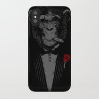 monkey iPhone & iPod Cases featuring Monkey Business by Alex Solis