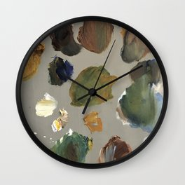 LIMITED PALETTE NO. 1 Wall Clock