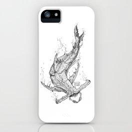 Crab - Shark iPhone Case