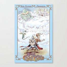 Quest for the Cloud Castle Poster Canvas Print