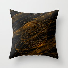 Sphere of particles Throw Pillow