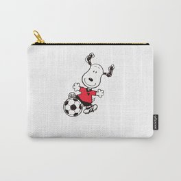 snoopy soccer Carry-All Pouch