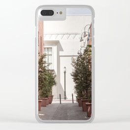 Street Photography The Alley I Clear iPhone Case