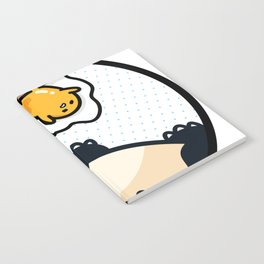 Snorlax Gudetama Lazy Duo (San-x) Notebook