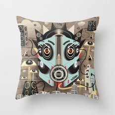 Ubiquity sound Throw Pillow