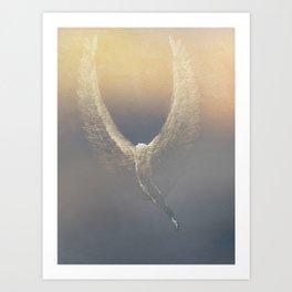 Icarus Rising Art Print