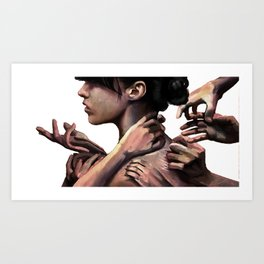 You know I'd rather work alone Art Print