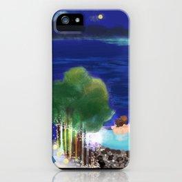 Mid-Autumn Onsen at Fuji iPhone Case