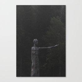 Towards Helheim Canvas Print