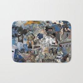 Untitled Digital Collage Bath Mat