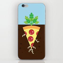 Pizza is a Vegetable iPhone Skin