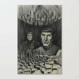 Broken Planet Canvas Print