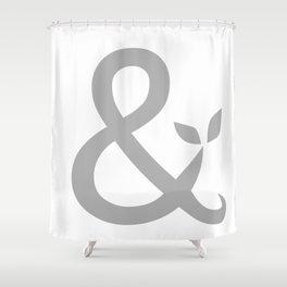 Ampersand Shower Curtain