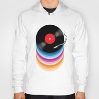 vinyl Hoodies featuring Vinyl by jun salazar