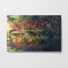 Nina Constellation Metal Print