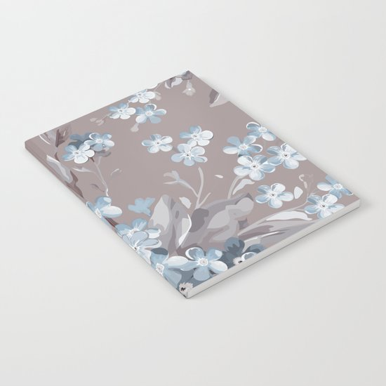 FLORAL PATTERN 2 Notebook