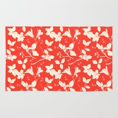 Drawings from Stonecrop Garden, Pattern in Red Rug