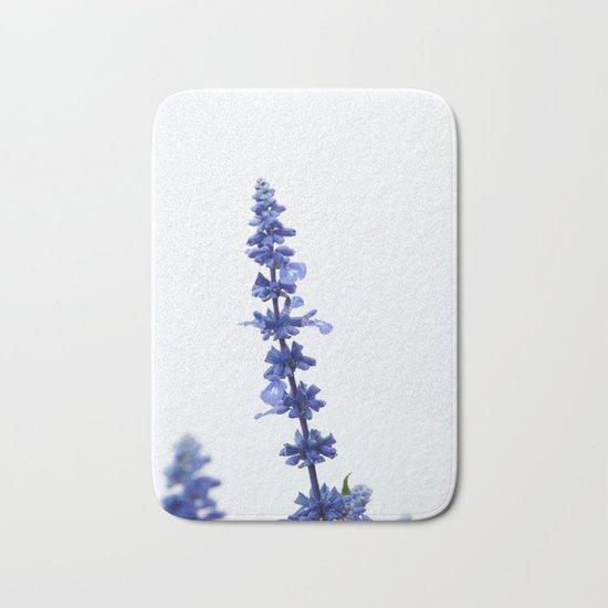 Blue Flower #1 #decor #art #society6 Bath Mat