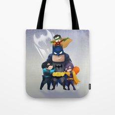 Bat-Family Tote Bag