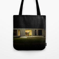 Building at Night Tote Bag