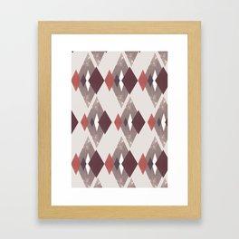 Heartbeats Framed Art Print