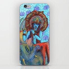 Krishna snake elephant iPhone Skin