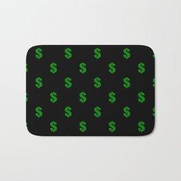 cash money desgn modern pattern Bath Mat