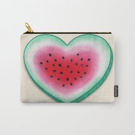Summer Love - Watermelon Heart Carry-All Pouch