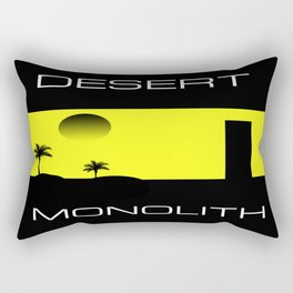 Desert Monolith Rectangular Pillow