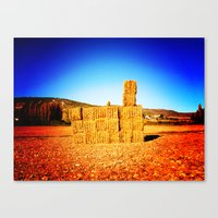 tetris Canvas Prints featuring Tetris by trasteverestudio