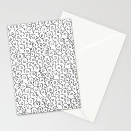 Pugs Grumble Stationery Cards