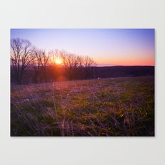 High and Low Canvas Print