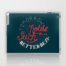 Blink 182 - Adam's Song hand drawn lyrics Laptop & iPad Skin