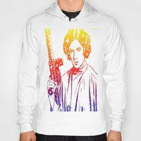 princess leia Hoodies featuring Princess Leia by mchlsrr