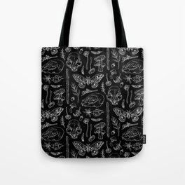 Witchcraft II [B&W] Tote Bag