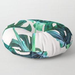 Wild Leaves Floor Pillow