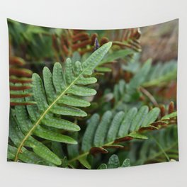 Fern Plant Nature Forest Northwest Hiking Outdoors Oregon Washington SPores  Wall Tapestry