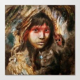 Ecuador Canvas Print
