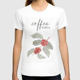 coffee plant coffea arabica T-shirt