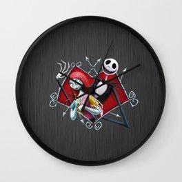 JACK SKELLINGTON AND SALLY Wall Clock