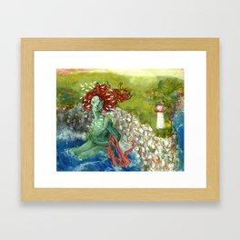 Daughter of the Ocean Framed Art Print