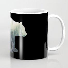 Misty Forest Bear Coffee Mug