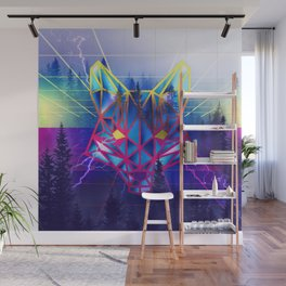 80's Woodland Wall Mural