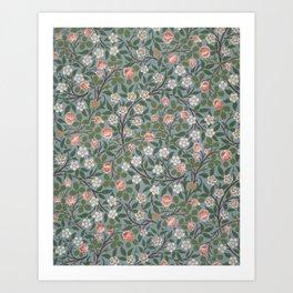 """William Morris """"Clover"""" Art Print"""
