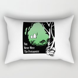 The Protagonist Rectangular Pillow